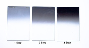 Figure 1 - Neutral density Graduated filters