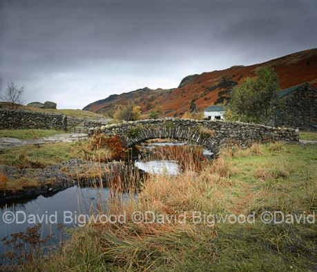 Footbridge at Watendlath, Cumbria, England