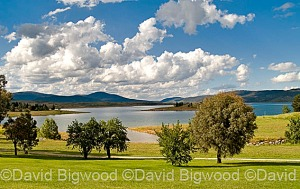 Lake Jindabyne, Snowy Mountains, New South Wales, Australia