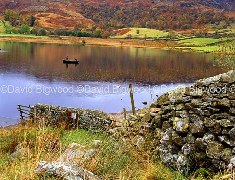 England: Watendlath tarn, Lake District, Cumbria