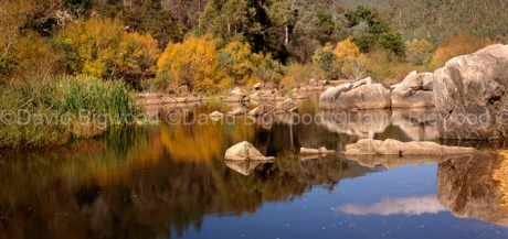 Australia: Snowy River, Snowy Mountains, New South Wales near NSW/Victoria border along Barry Way