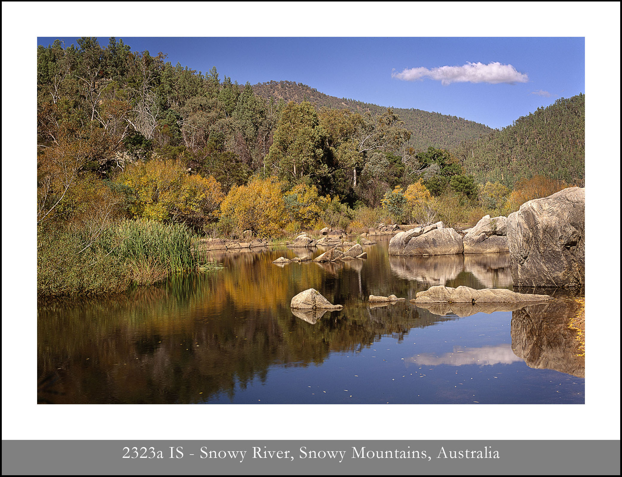 Snowy River, Snowy Mountains, New South Wales, Australia